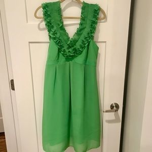 Lilly Pulitzer ruffle cocktail dress